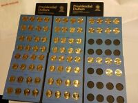 COMPLETE 78 COIN SET  P&D  2007 2016 PRESIDENTIAL GOLD DOLLARS WASHINGTON REAGAN