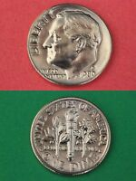 1980 D ROOSEVELT DIME BRILLIANT UNCIRCULATED FLAT RATE SHIPPING