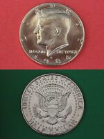1984 D BRILLIANT UNCIRCULATED JOHN KENNEDY HALF DOLLAR FLAT RATE SHIPPING
