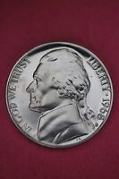 1968 S PROOF THOMAS JEFFERSON NICKEL EXACT COIN PICTURED FLAT RATE SHIPPING 12