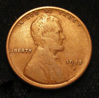 1915 D LINCOLN PENNY A FINE OLD U.S. ONE CENT W/ NICE DETAILS N2