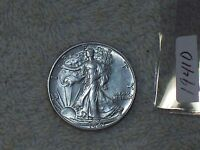 1941 D LIBERTY HALF DOLLAR  UNCIRCULATED