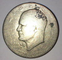 1976 TYPE 1 EISENHOWER DOLLAR   WORN SMOOTH