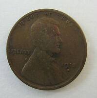 1913 -S- LINCOLN WHEAT CENT