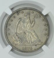 1876 CC   LIBERTY SEATED  HALF   NGC XF 40   AWESOME COIN    $638.88