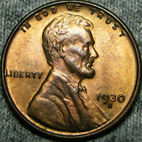 1930-S LINCOLN CENT WHEAT CENT   ---- STUNNING ---- B653