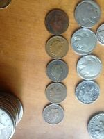 LOT OF 6 INDIAN HEAD PENNY'S 1901,1903,1906,1880,1897