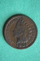 1904 INDIAN HEAD CENT PENNY ADDITIONAL ITEMS YOU FROM ME BUY SHIP FOR FREE 217
