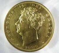 GREAT BRITAIN GEORGE IV 1826 GOLD SOVEREIGN   STERLINA ORO AU