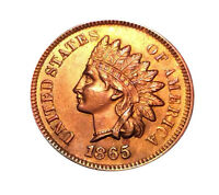 1865 INDIAN HEAD CENT - R