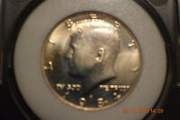 1984 D 50C KENNEDY HALF DOLLAR SLABBED AND IN