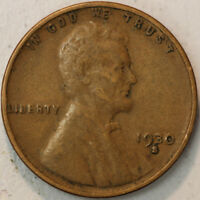1930 -S  LINCOLN WHEAT CENT PENNY 1C  XTRA FINE - EXTRA FINE  SP