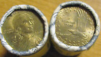 1 2000 D AND 1 UNKNOWN DATE SACAGAWEA $1  ROLLS TOTAL OF 50 COINS