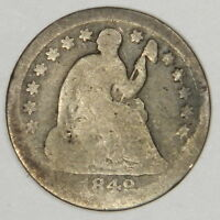 1849-O SEATED HALF DIME -  ORIGINAL GOOD PRICED RIGHT