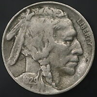 1929 S BUFFALO NICKEL SHARP & ORIGINAL SUPER BOLD EXAMPLE  7531