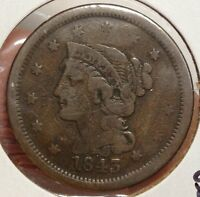 1843 LARGE CENT COUNTERSTAMP