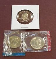 1977 P D & S WASHINGTON QUARTERS   UNCIRCULATED & PROOF