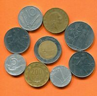 ITALY COIN. ITALIAN COINS COLLECTION, MIXED LOT  L10434