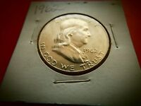 1962 P FRANKLIN HALF DOLLAR FBL SILVER UNCIRCULATED