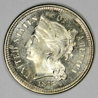 1878 3C THREE CENT NICKEL PROOF  FLASHY & PRICED RIGHT