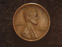 1955 D LINCOLN WHEAT CENT