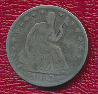 1853 O SEATED LIBERTY SILVER HALF DOLLAR WITH ARROWS & RAYS
