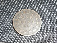 NICE CANADA 1891 LARGE CENT HIGH GRADE COIN