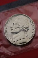 1981 P BU JEFFERSON NICKEL IN CELLO EXACT COIN PICTURED FLAT RATE SHIPPING 16