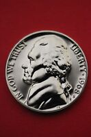 1968 S PROOF THOMAS JEFFERSON NICKEL EXACT COIN SHOWN FLAT RATE SHIPPING 19