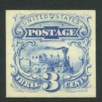 US PICTORIAL SC  114P4 1869 3C MINT NGAI CAT $85.00