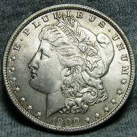 1900 MORGAN DOLLAR SILVER US COIN    GEM BU CONDITION     O249