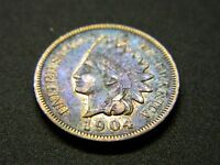 1904  INDIAN HEAD CENT NICE  DETAILS