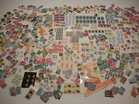 LARGE ACCUMULATION OF LOW FACE VALUE U.S. MINT STAMPS; POSTAGE OR COLLECTION