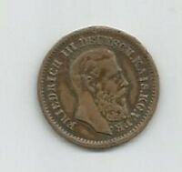 GERMANY/PRUSSIA 1800S MEDAL FOR FRIEDRICH III