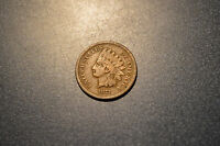 1873 INDIAN HEAD CENT WITH PARTIAL LIBERTY OPEN 3 GOOD VG