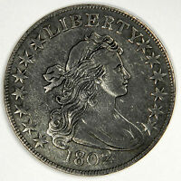 1802 BUST HALF DOLLAR - BOLD EXTRA FINE /AU DETAILS - LIGHT SCRATCHES - PRICED RIGHT