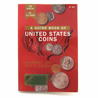 1994 OFFICIAL REDBOOK OF US COINS GUIDE TO US COINS FROM 1616 TO 1994.