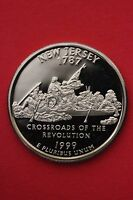 1999 S NEW JERSEY PROOF QUARTER CLAD EXACT COIN PICTURED FLAT RATE SHIPPING 05