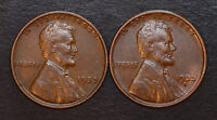 1933 P & 1933 D NICE HIGH GRADE PAIR OF LINCOLN WHEAT CENTS
