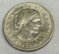 1979 D SBA$1 SUSAN B. ANTHONY DOLLAR