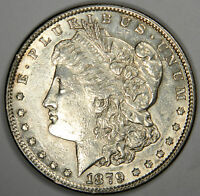1879-S MORGAN DOLLAR -  BRIGHT AU/BU ABOUT UNCIRCULATED - PRICED RIGHT