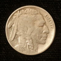 1929 S BUFFALO NICKEL USA 5 CENT COLLECTABLE COIN M775