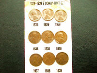 WHEATIES LOT OF PENNIES COLLECTION 1928 THRU1959 LOT OF 63 TOTAL