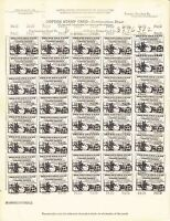 U.S. FEDERAL - SOME 40 COTTON ORDER STAMPS