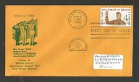 1960 BSA SCOUT ROCKWELL 1145 TR63 DEKALB DISTRICT CHOCCOLOCCO COUNCIL FDC