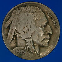 1935 D BUFFALO NICKEL TOUGH DATE THIS ONE IS SHARP M4030