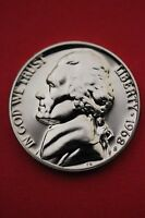 1968 S PROOF THOMAS JEFFERSON NICKEL EXACT COIN SHOWN FLAT RATE SHIPPING 11