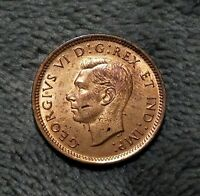 UNCIRCULATED 1939 CANADIAN PENNY