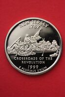 1999 S NEW JERSEY PROOF QUARTER CLAD EXACT COIN PICTURED FLAT RATE SHIPPING 19