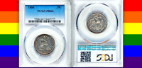 1885 PCGS PR64 14,530 TOTAL MINTAGE  UNDERVALUED DATE SEATED QUARTER 25C